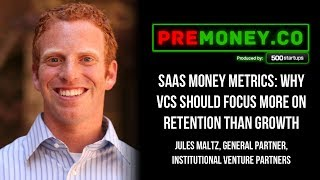 """[PREMONEY 2014] """"SaaS Money Metrics: Why VCs Should Focus More on Retention Than Growth"""""""