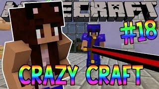 Minecraft: YouTuber Survival #18 - Big Bertha (Minecraft Crazy Craft 3.0 SMP)
