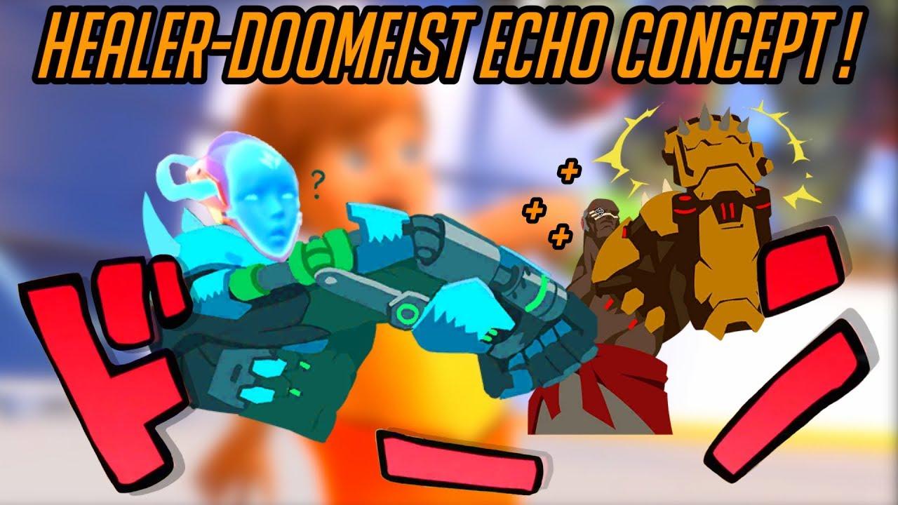 Download Overwatch | Echo Support Hero Concept! [5/5] Echo Reverb, the Healing Doomfist! [OW2 Hero 32?]