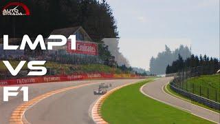 LMP1 vs Formula 1 - Eau Rouge Raidillon Comparison