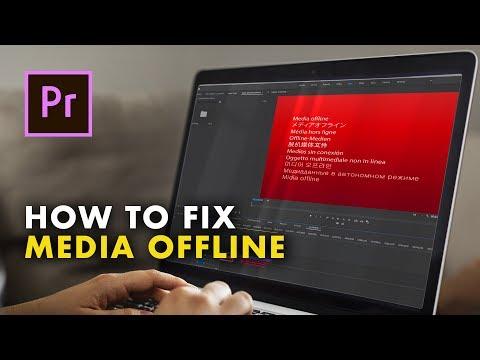 How To Fix The Media Offline Error In Adobe Premiere Pro