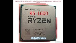 AMD RYZEN 5 R5-1600. Cheapest gaming CPU.  $120