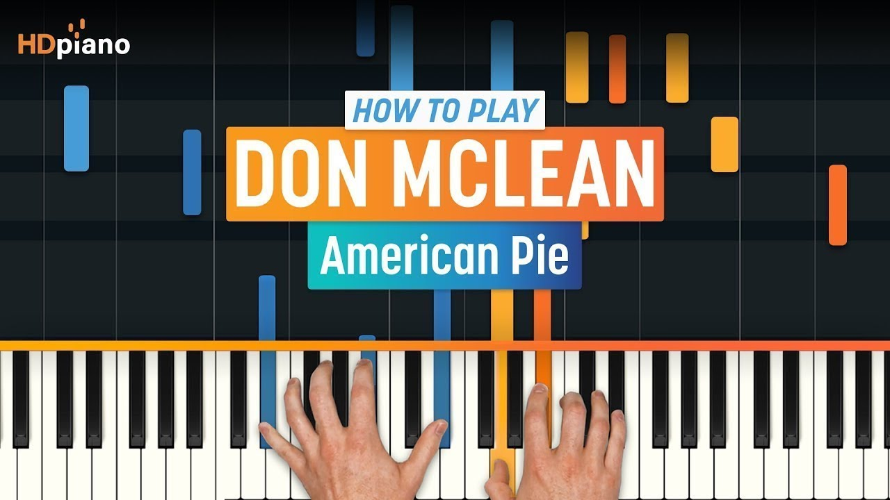 How to play american pie by don mclean hdpiano part 1 piano how to play american pie by don mclean hdpiano part 1 piano tutorial baditri Image collections