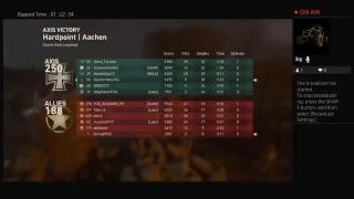 WW2 online multiplayer LIVE stream 9\6\2018