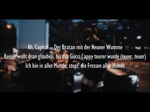 CAPITAL BRA & SAMRA - TILIDIN (Official HQ Lyrics) (Text)