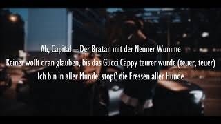 CAPITAL BRA & SAMRA - TILIDIN (Official HQ Lyrics) (Text)