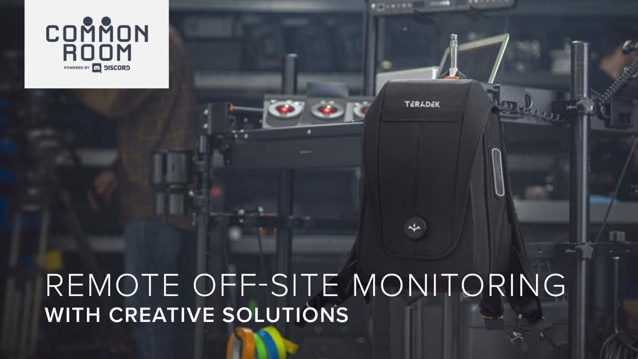 Remote off-set monitoring with Creative Solutions - CVP Common Room