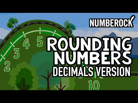 Rounding Whole Numbers And Decimals: Online Education Music Videos