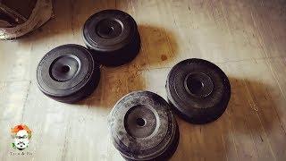 Aurion Spare Vinyl Plates 20 Kg x2 | 2 Pieces