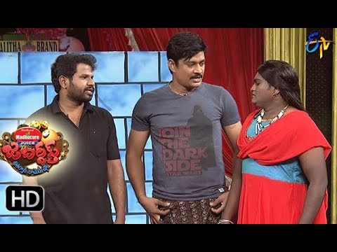 Hyper  Aadi Raijing Raju Performance | Jabardasth|  2nd November 2017| ETV  Telugu