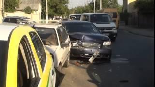 Accident în lanț la trecerea de pietoni #Durlești