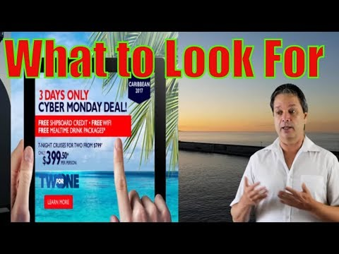 Cruise Lines Black Friday Sales - Cruise Lines Cyber Monday Sales