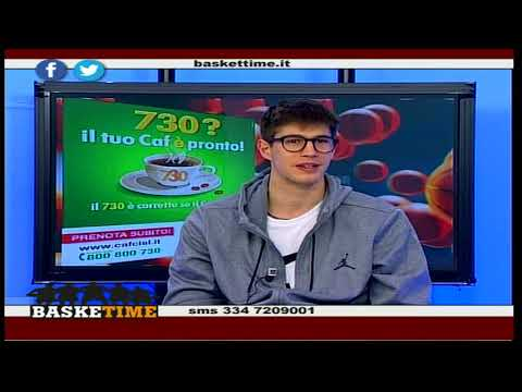 BaskeTime 21° puntata - ospite Leonardo Candi