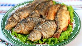 #Карасі по-лиманськи  #Татуся Бо-4 #їжа #риба смажена