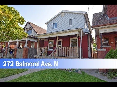 House for Sale 272 Balmoral Ave N Hamilton, Ontario