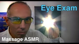 ASMR Dr Dmitri Role Play Eye Examination - Flashlight