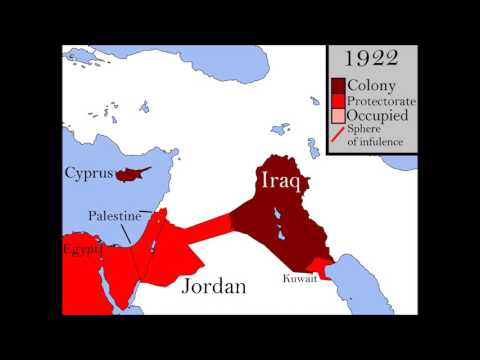 British Colonization Of The Middle East.