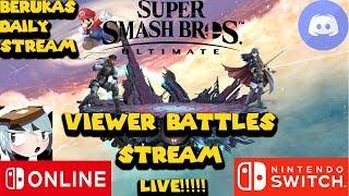 Beruka's Daily Stream R 109: Smash Ultimate Monday Time/ VC & Chill