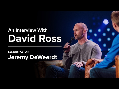 An Interview with David Ross - Jeremy DeWeerdt