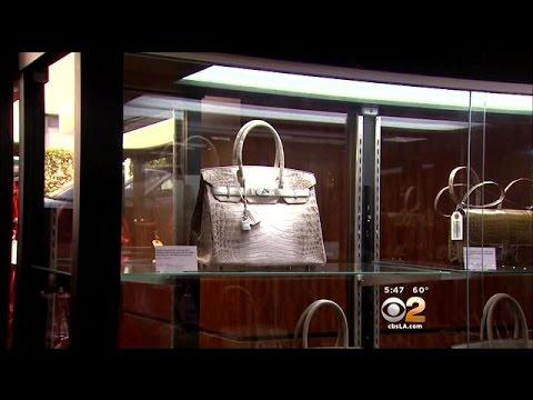 Diamond-Studded Birkin Bag Sells For $185K At Beverly Hills Auction