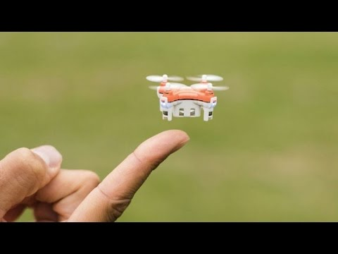 5 Best Smallest Mini Nano Quadcopter Drones With Camera