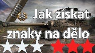 Jak získat znaky na dělo ve World of Tanks