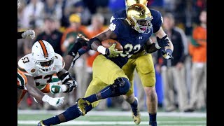 Josh Adams | Welcome to Philadelphia | Notre Dame Highlights