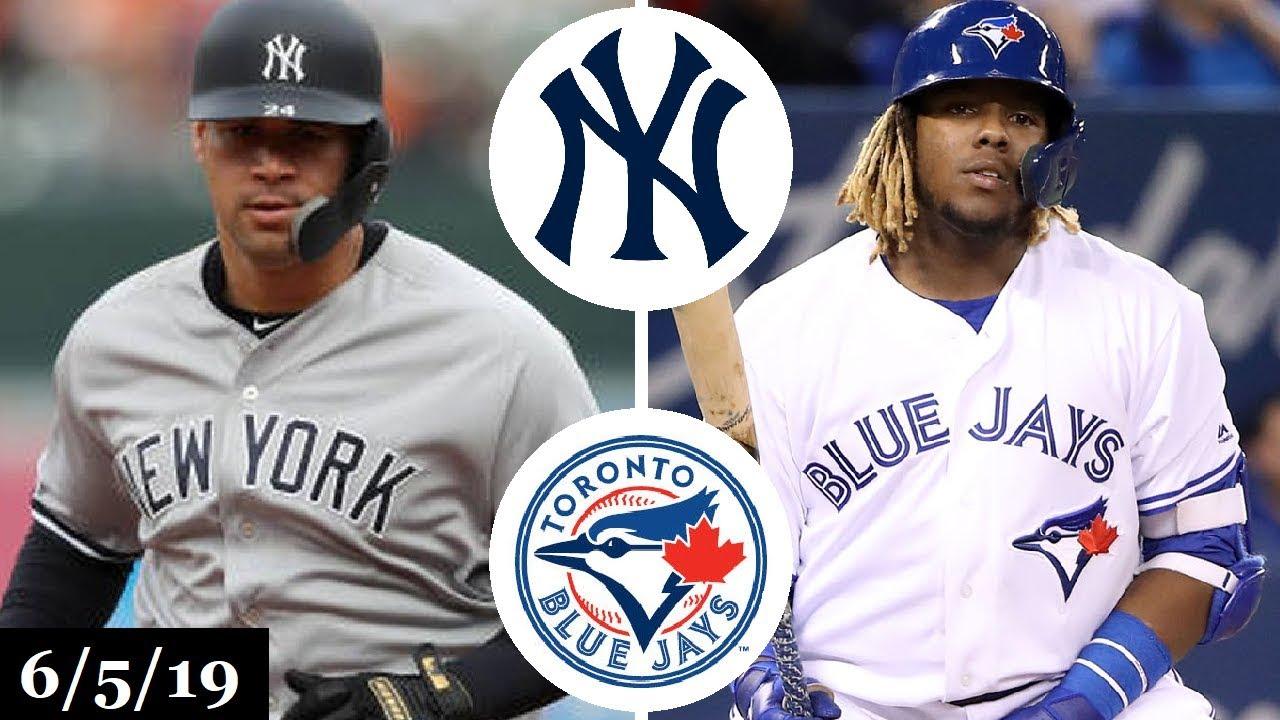 New York Yankees vs Toronto Blue Jays - Full Game
