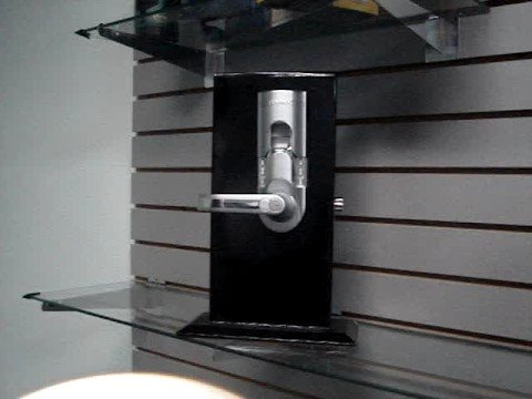 Fingerprint Door Lock - For Exterior Doors - Satin Chrome Fi