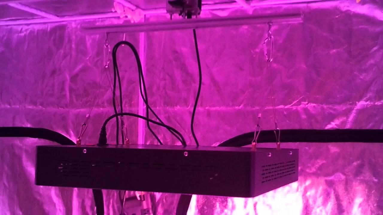 Complete LED grow setup & Complete LED grow setup - YouTube
