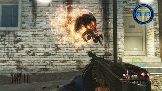 "Black Ops 2 ""MOB OF THE DEAD"" GAMEPLAY - Call of Duty Black Ops 2 Zombies PART 1 (UPRISING Map Pack)"