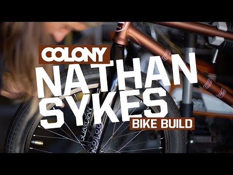 Nathan Sykes builds up his signature Tradition frame in the new Metal Bronze colourway then gets in a session at the Pala park. More info on the frame here: http://colonybmx.com.au/products/new-tr...