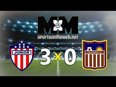 Junior Barranquilla 3-0 Carabobo | Gols - 07/02/17 | Libertadores 2017
