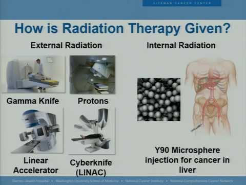 Radiotherapy for Rectal Cancer, How Does it Work: Dr  Jeff Olsen