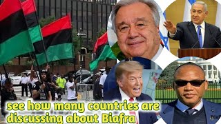 Nnamdi Kanu finally Summits To UN/USA/ISREAL/BIAFRANS and World Powers The Drawing Of Biafra