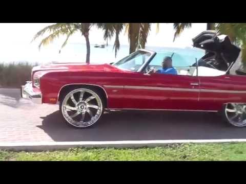 1975 CLEAN CAPRICE CONVERTIBLE DONK FOR SALE