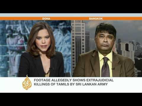 Sri Lanka responds to 'war crimes' claims