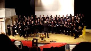 40 year Franklin High School Bel Canto Reunion Seattle sing Hallelujah Trail