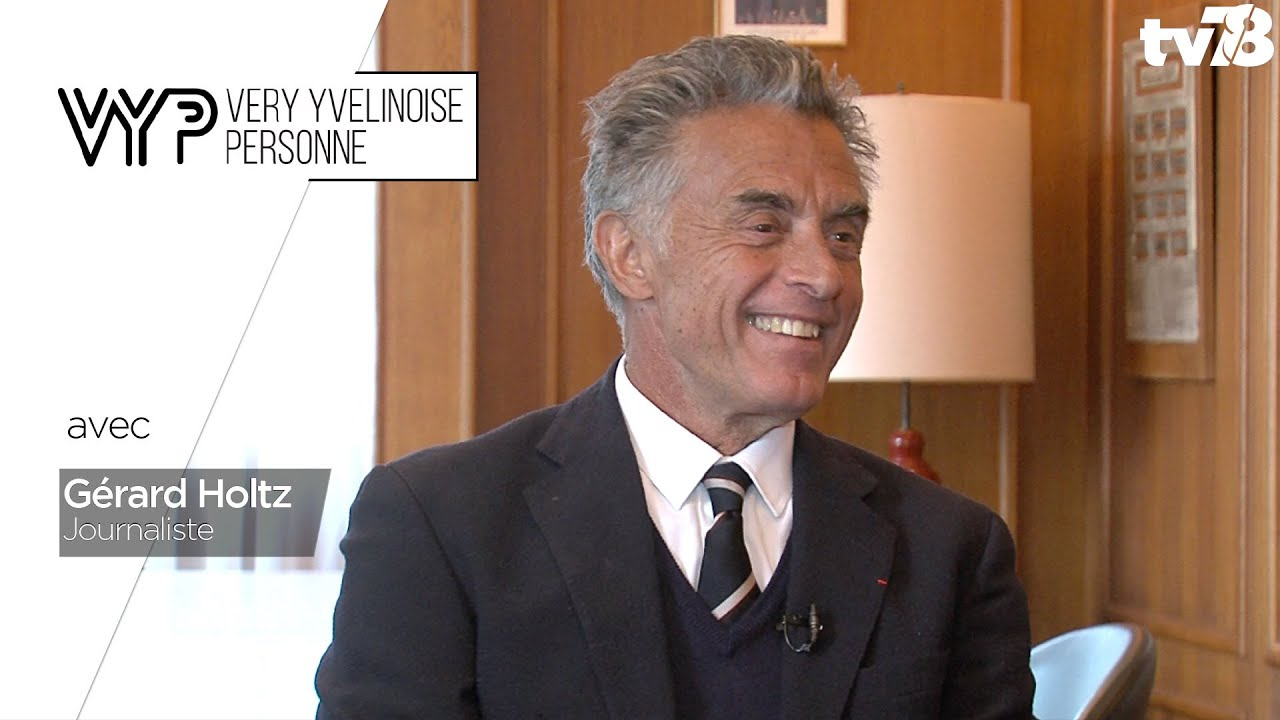VYP. Gérard Holtz, journaliste