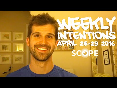 #ScopeVlog 037 | New Format & Weekly Intentions!