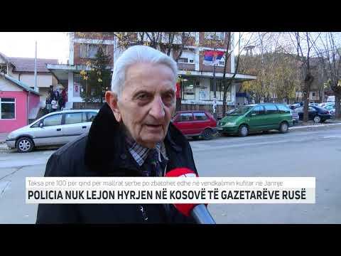 POLICIA NUK LEJON HYRJEN NË KOSOVË TË GAZETARËVE RUS