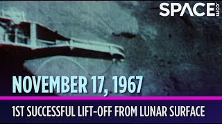 OTD in Space - Nov. 17: 1st Successful Lift-Off from Lunar Surface