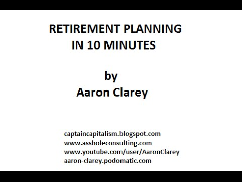 Retirement Planning in 10 Minutes