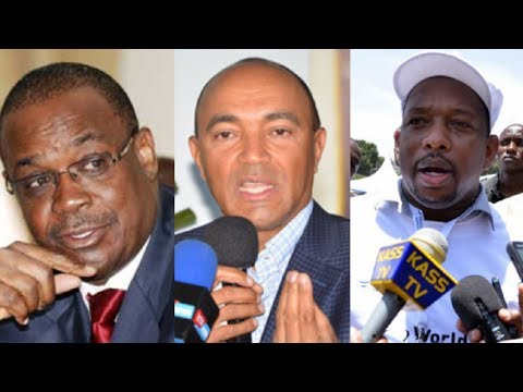 Race for Nairobi between Mike Sonko and Evans Kidero might be determined by Peter Kenneth