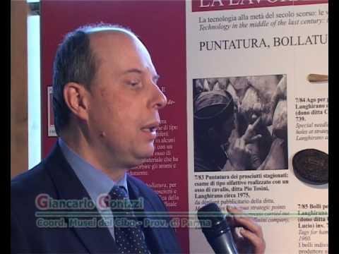 Musei del Cibo. Museo del Prosciutto di Parma: O. La lavorazione prosciutto 2