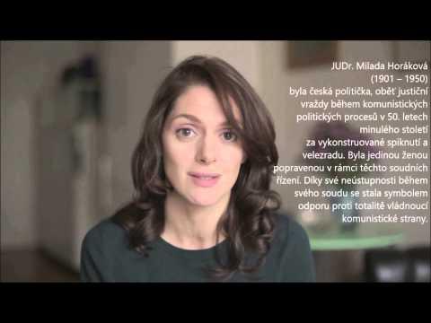 MILADA 2014 Klára Issová o své roli ve filmu