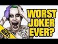 SUICIDE SQUAD Jared Leto Worst Joker Ever YouTube