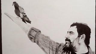 Karakalem Çizimi - Serkan KAYA ( Ressam)