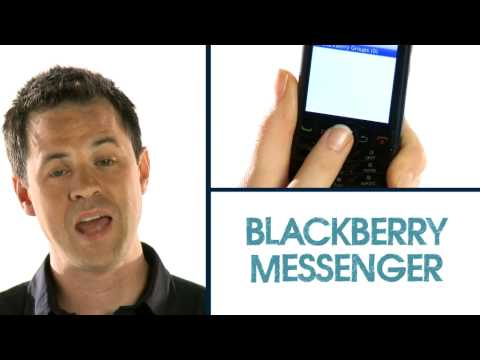 BlackBerry Pearl 9105 3G Demo from The Carphone Warehouse
