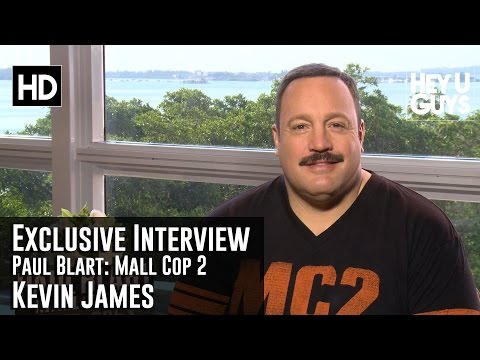 Kevin James Exclusive Interview - Paul Blart: Mall Cop 2
